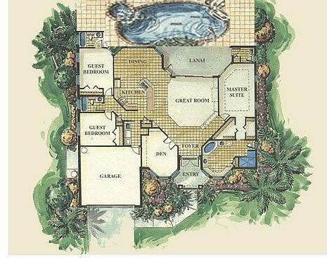 Traumvilla grundriss  Hausbeschreibung